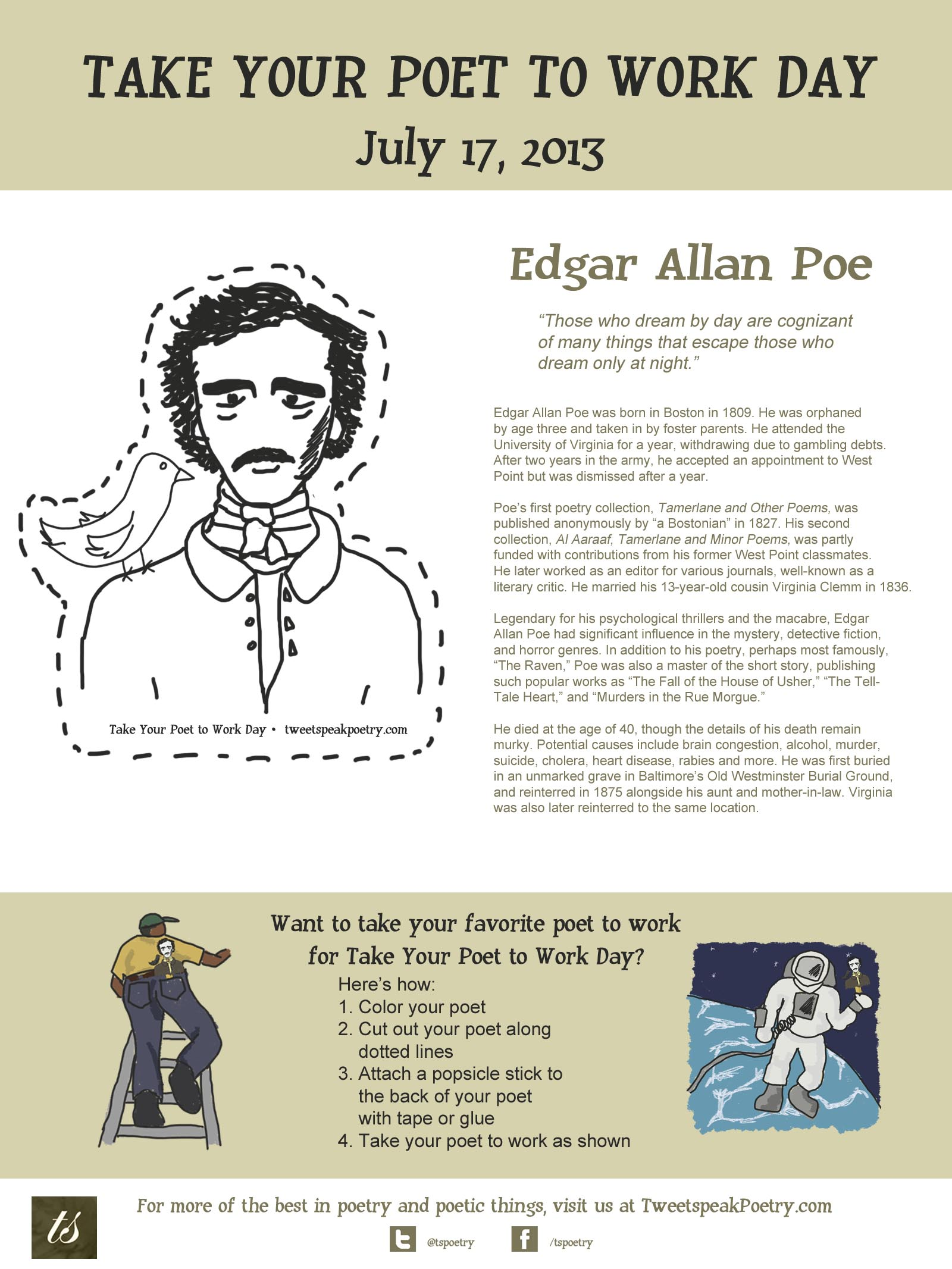edgar allan poe life and death essay Check out our edgar allan poe essay sample and buy papers of such quality from our writers  after this short research, we can say that edgar allan poe's life was full of tragedy, fear, and misfortunes, which led him to alcohol addiction  bramsback, birgit (1970) the final illness and death of edgar allan poe: an attempt at.