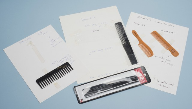Mcsweeney's Comb samples for McSweeney's Quarterly Concern, Issue 16 (May 2005)