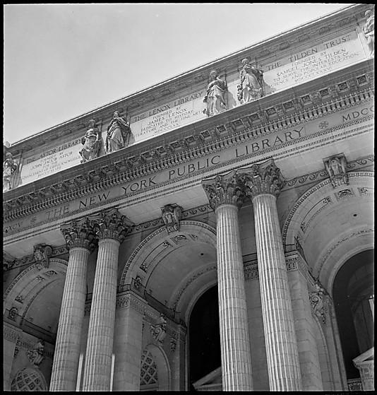 Walker Evans NYPL exterior