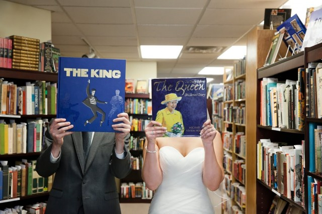 bookstore wedding 2