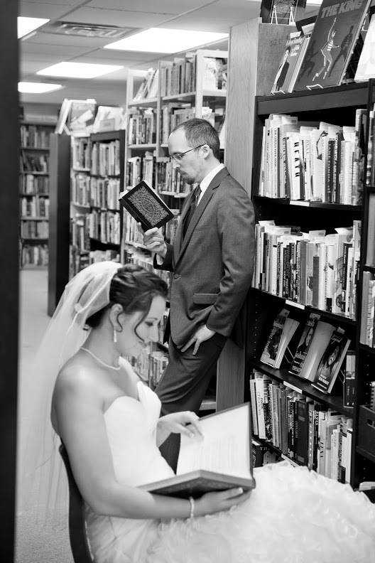 bookstore wedding 3