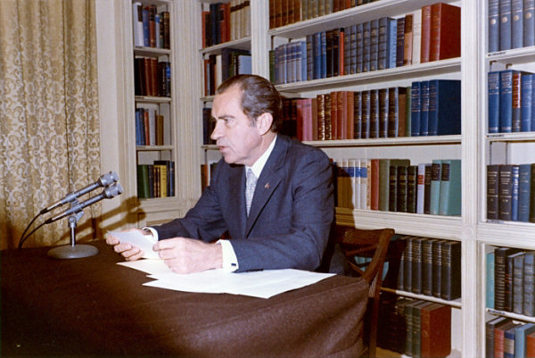 white-house-library Richard Nixon