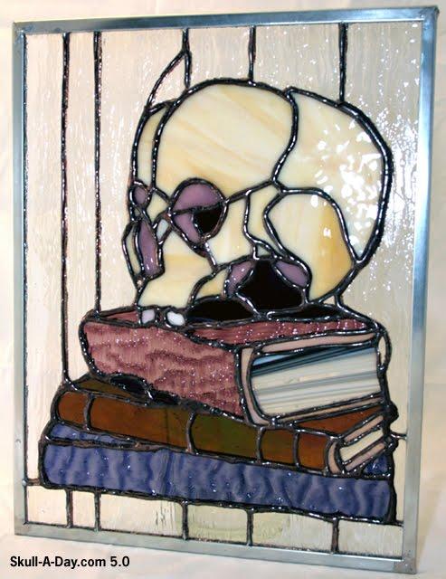 _StainedGlass skull