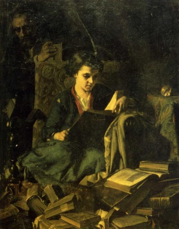 alexandre-antigna-la-fille-du-bouquiniste (1855),