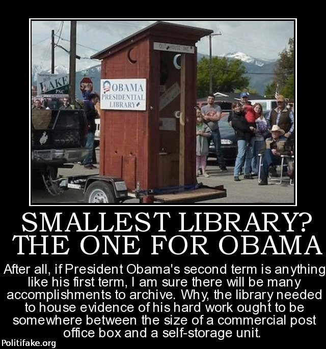 outhouse library obama
