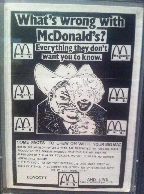 Disobedient objects mcdonalds