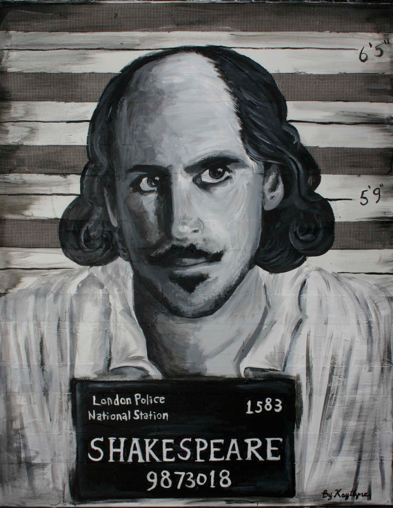 Shakespeare mug shot