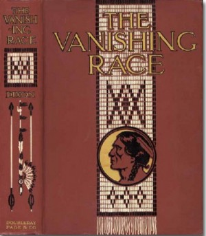 nat am book design vanising race