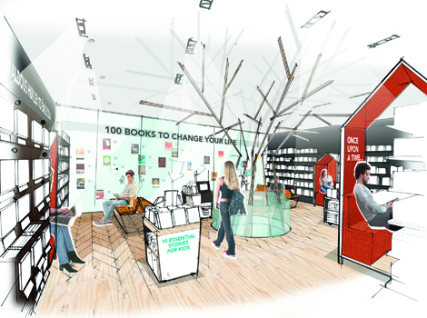 reinvent the bookshop