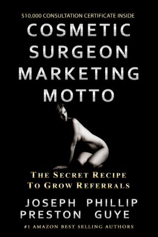 DoctorBookPublishing Cosmetic Surgeon Marketing Motto
