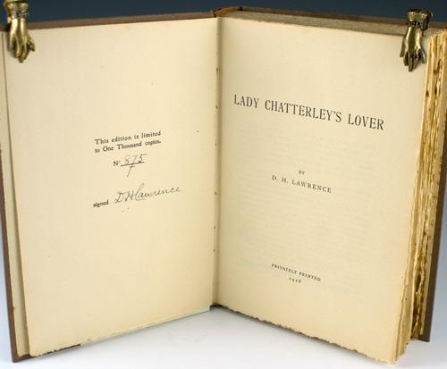 dh lawrence lady chatterly 1
