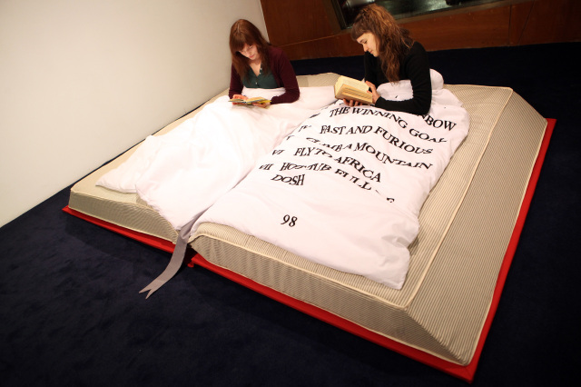 Book Bed Ruth Beale 1