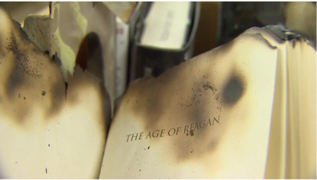Book Burning at Tacoma Public Library