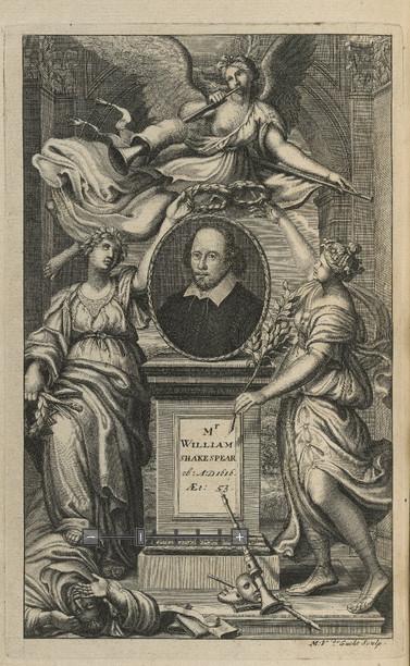 folger frontis works 1709
