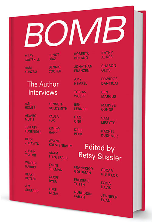BOMB Author Interviews
