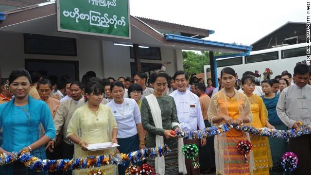 Myanmar library.