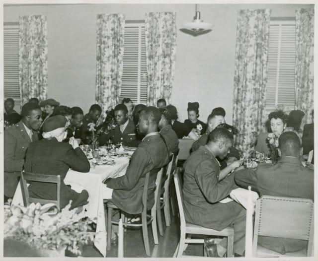 Thanksgiving Wounded Negro Soldiers