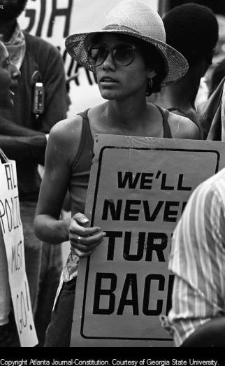 Civil_rights_marcher_in_Wrightsville_Georgia_September_20_1980