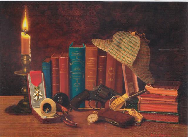 Sherlocj trompel'oeil Eeric Conklin
