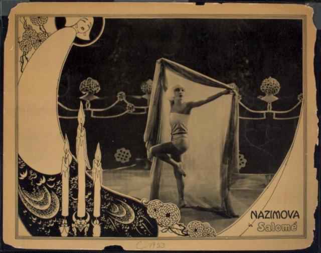 Wilde Salome film adaptation 1922