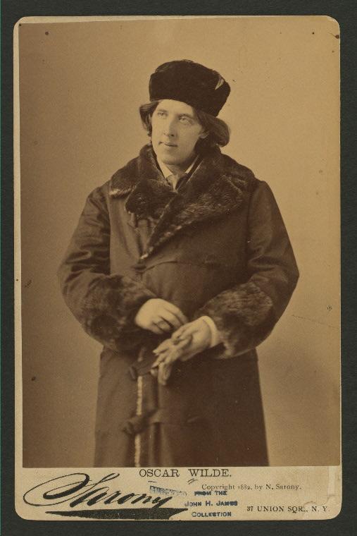 Wilde portrait