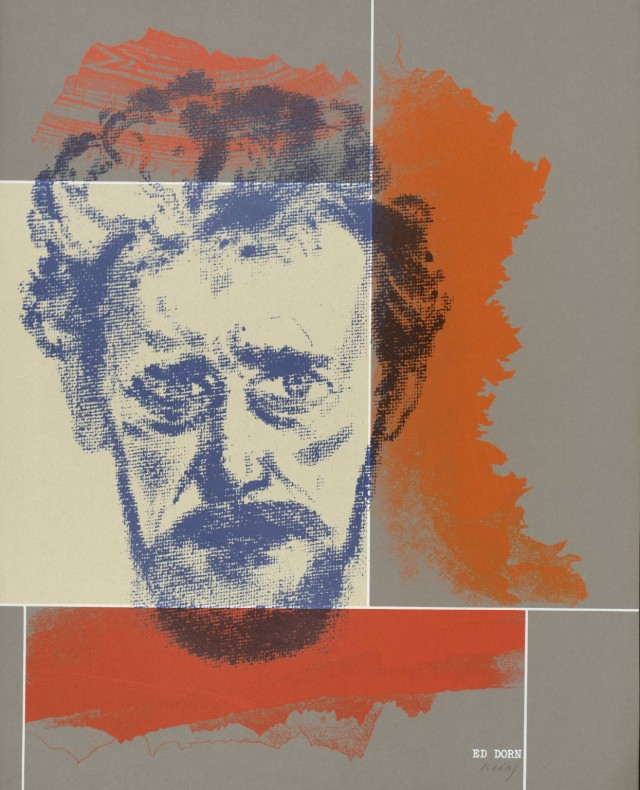 Ed Dorn 1966-70 by R.B. Kitaj 1932-2007