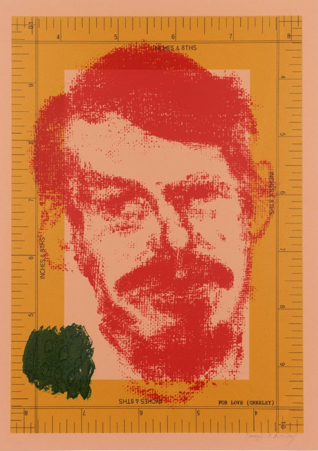 For Love (Robert Creeley) 1966-70 by R.B. Kitaj 1932-2007