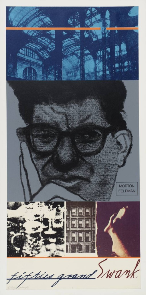 Fifties Grand Swank (Morton Feldman) 1966-70 by R.B. Kitaj 1932-2007