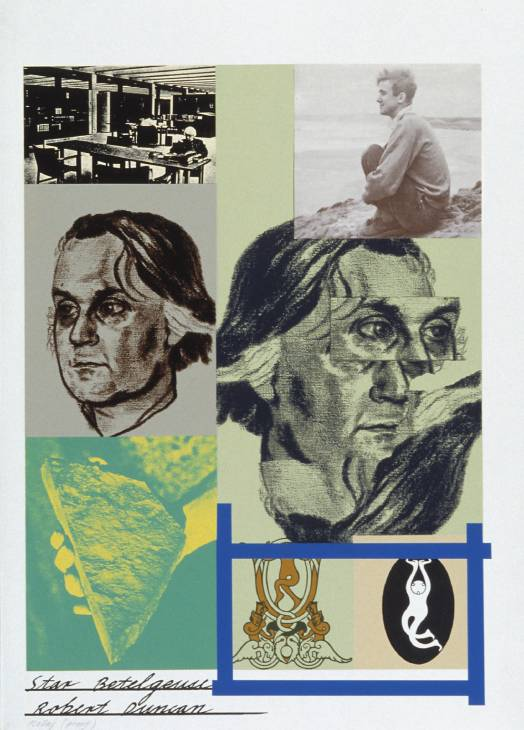 Star Betelgeuse (Robert Duncan) 1966-70 by R.B. Kitaj 1932-2007