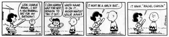 Rachel Carson Peanuts
