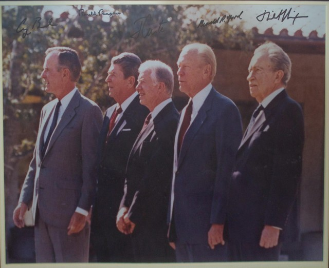 photo of 5 presidents