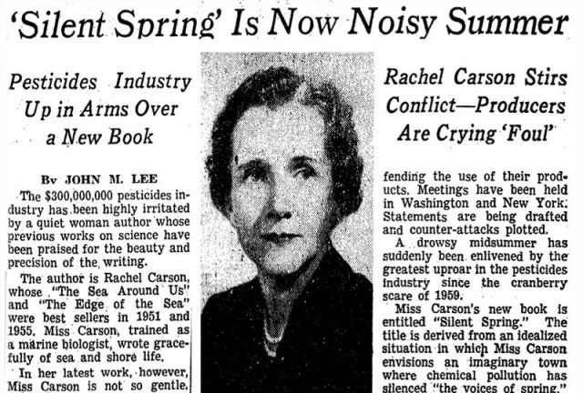 silent spring nyt