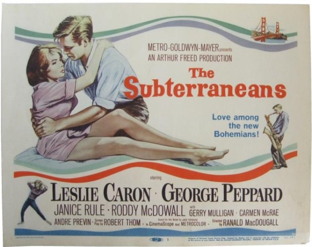 Subterraneans poster lobby cards