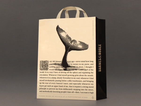 barnes and noble shopping bag Moby Dick
