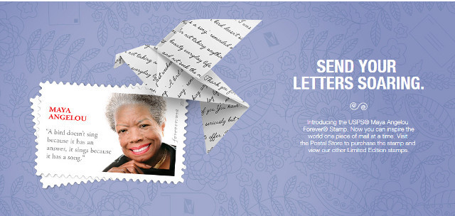 Angelou stamp