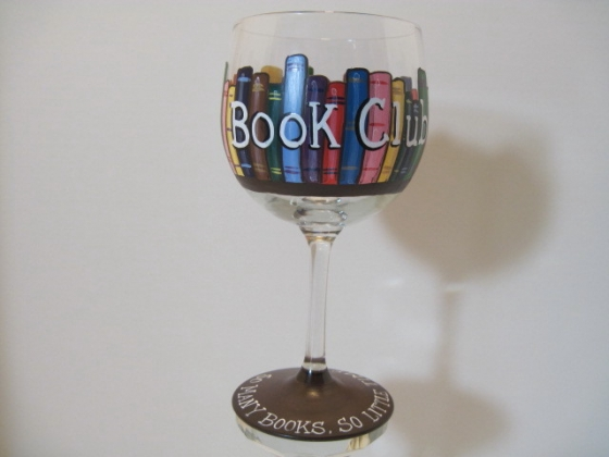 book glasses book club