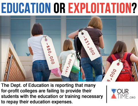 education or exploitation