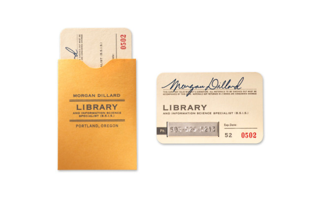 Bookish Business Cards 2