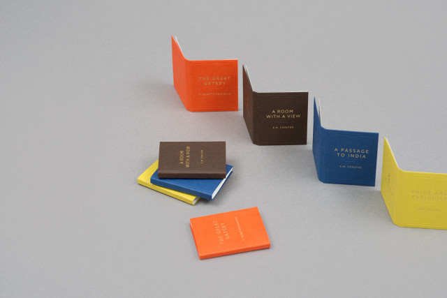 Bookish Business Cards b